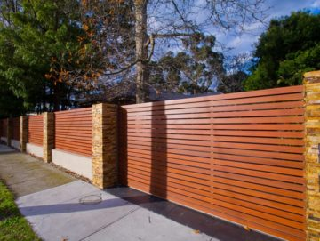 Aliscreen Aluminium Slat Fences