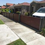 Aliscreen manual aluminium slat driveway gates